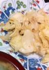 アンチョビとキャベツの炒め物