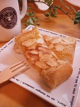 アーモンドバター食パン