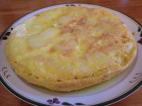 冷凍ジャガイモと卵で簡単!スパニッシュポテト
