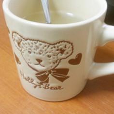 咽頭痛になんちゃって蜂蜜レモン生姜葛湯♪