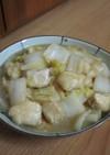 鶏むね肉と白菜の煮物☆めんつゆで♪