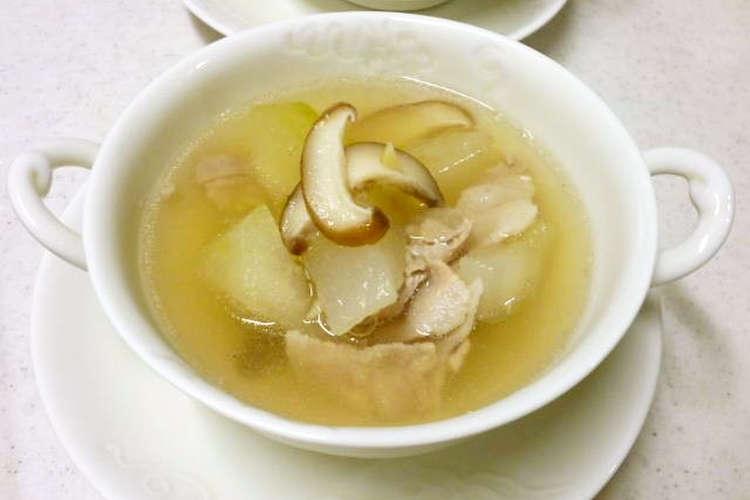 豚肉 スープ 冬瓜