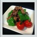 ■糖質制限■牛肉とピーマン簡単青椒肉絲味