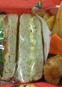 お豆腐の玉子サンド