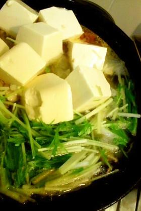 塩ラーメン風白滝鍋