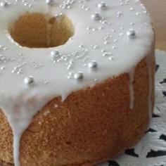 パン屋さんのシフォンケーキ