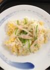 炒り卵とシラスの散らし寿司
