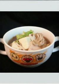 ■糖質制限■白菜豆腐きのこ簡単うま煮鍋秋