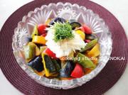 夏野菜の煮浸しの写真