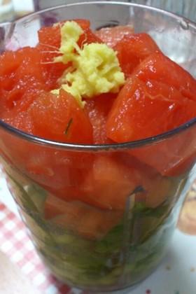 夏の小松菜ジュース♪