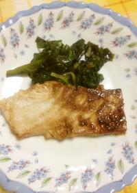 塩麹で簡単焼き魚