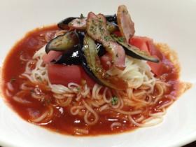 トマトジュースで簡単イタリアンそうめん
