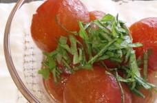 プチトマトの中華風マリネ