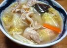 スープ仕立ての八宝菜