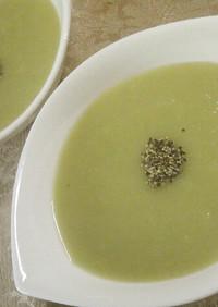 ♡オシャレなブロッコリーの芯のスープ♡