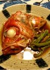 薄味♪金目鯛アラの煮付け(かぶと煮)