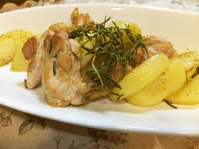 鶏肉、ジャガイモのローズマリーソテー☆