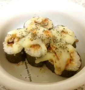 ◆ボンド=サンが食べてたナチョ・スシ◆