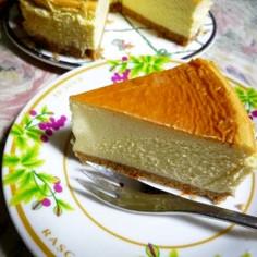 とっておきのニューヨークチーズケーキ