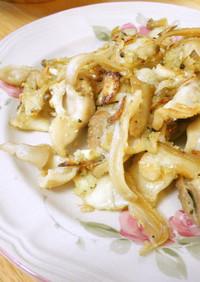 簡単☆マテ貝のガーリック炒め