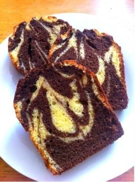 HMでマーブルパウンドケーキ
