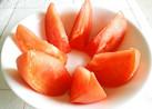 種が出ない裏技♪トマトのきれいな切り方
