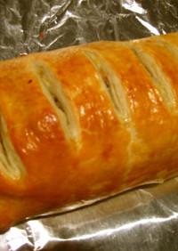 挽肉とジャガイモのチーズパイ