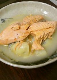 簡単!絶品!鮭とじゃがいも煮