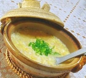 ホッカホカで優しく美味な卵雑炊