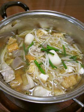 郷土料理 いもたき鍋