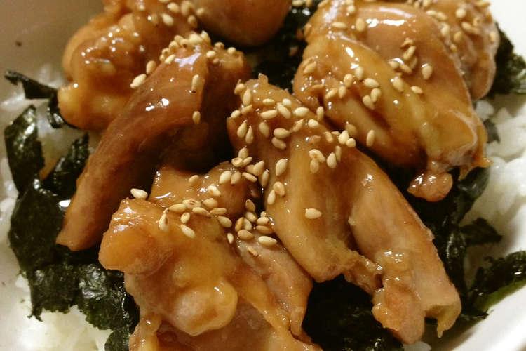 レシピ 焼き鳥 丼