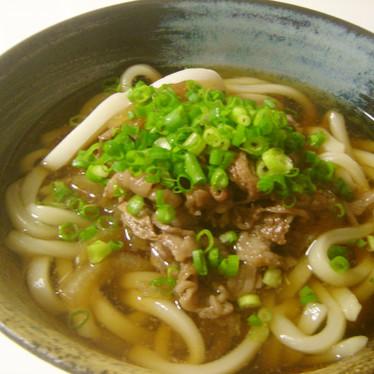 肉うどん〜関西風〜