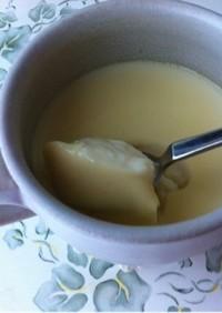 ゼラチン不使用♡簡単豆乳プリン