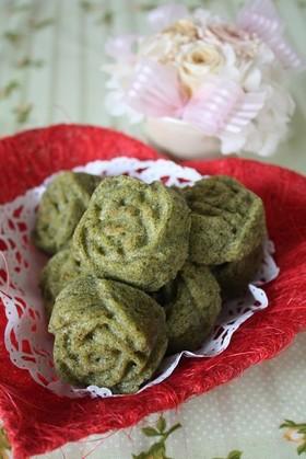 *おから&緑茶☆マドレーヌ*