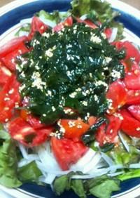 完熟トマトとタマネギの血液さらさらサラダ