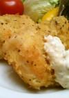 白身魚(たら)のフライ