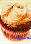 ★1ボウルでチョコレートカップケーキ★
