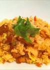 豚バラの混ぜご飯〜焦がしワサビ醬油味〜