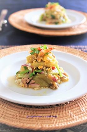 タイ風★焼きなすサラダ~ヤムマクワ