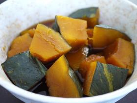 レンジにお任せでも本格的 かぼちゃの煮物