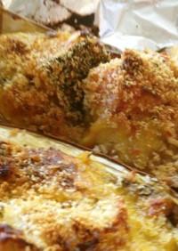 夏野菜☆茄子とカボチャのチーズ焼き