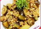 ナスと豚挽肉の炒め煮
