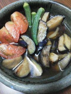 簡単☆夏野菜揚げ焼き浸し