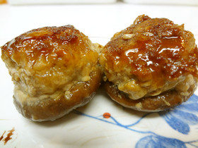 お弁当にも☆椎茸の肉詰め