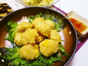 唐揚げ風☆鶏ひき肉&豆腐でヘルシー☆
