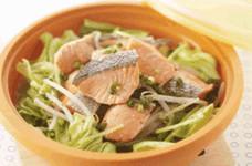 簡単☆鮭とキャベツのスチーマー蒸し