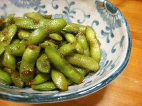 レンジおつまみ 枝豆 韓国風焼き肉たれ味