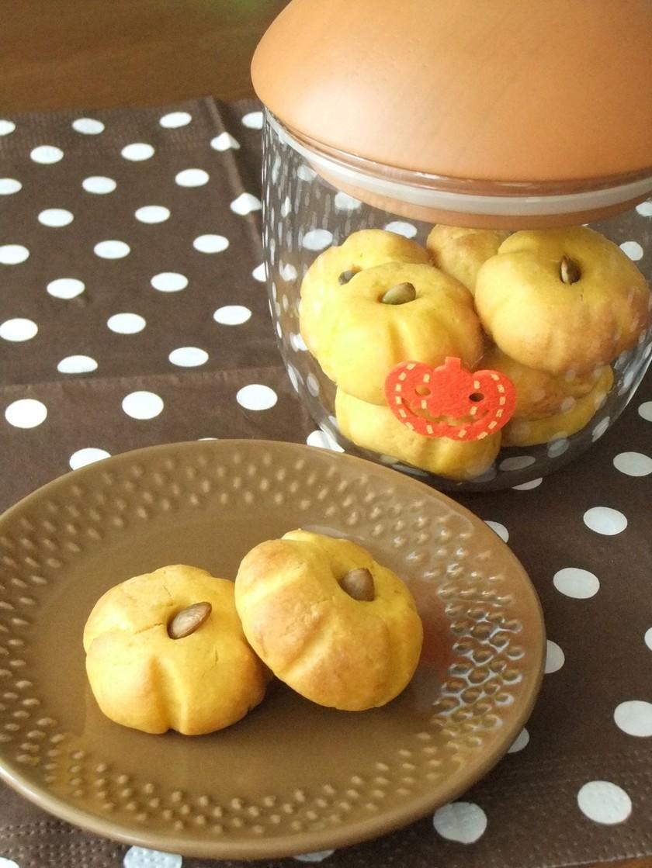 簡単。ハロウィンかぼちゃソフトクッキー