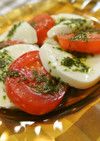 豆腐とトマトのヘルシー簡単カプレーゼ