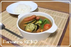 【農家のレシピ】夏野菜のスープカレー